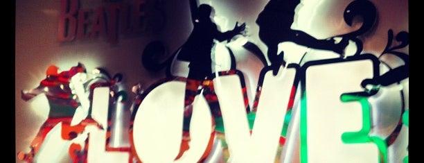 The Beatles LOVE (Cirque du Soleil) is one of @MJVegas, Vegas Life Top 100.