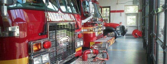 Fayetteville Fire Department is one of place.