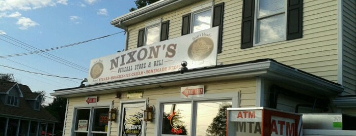 Nixons General Store & Deli is one of NJ to do.