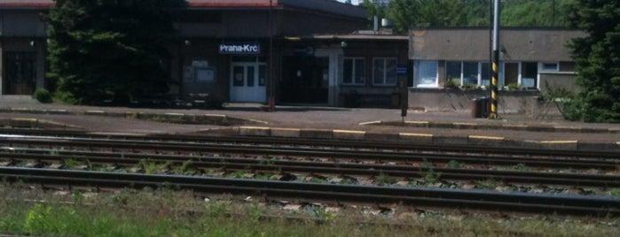 Železniční stanice Praha-Krč is one of Železniční stanice ČR: P (9/14).