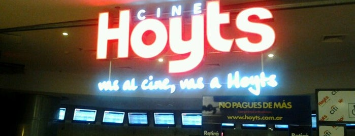 Hoyts is one of Caro.