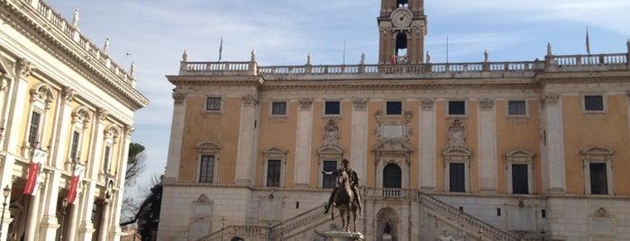 Piazza del Campidoglio is one of La Dolce Vita - Roma #4sqcities.