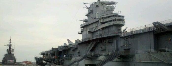 U.S.S. Yorktown is one of Charleston, SC.