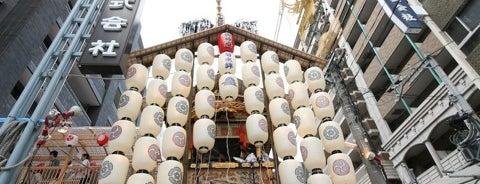 菊水鉾 is one of Sanpo in Gion Matsuri.