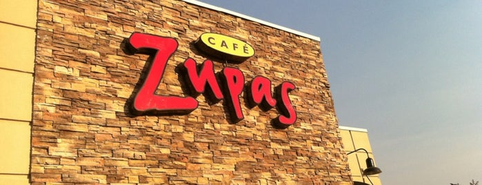 Cafe Zupas is one of Yummy places!.