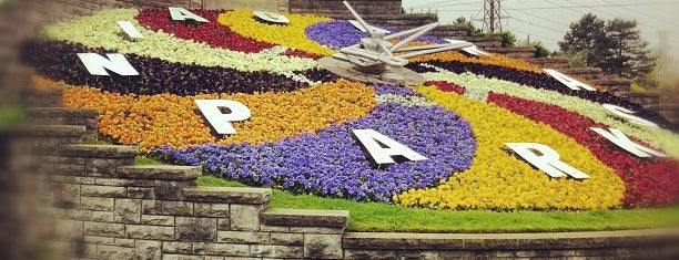 Floral Clock is one of Niagara.