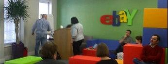 eBay UK is one of London4Geeks.