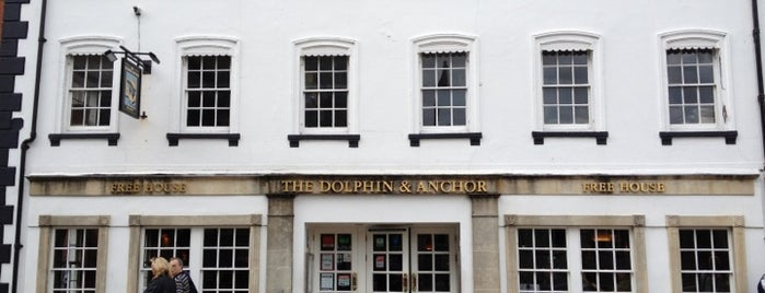 The Dolphin & Anchor (Wetherspoon) is one of JD Wetherspoons - Part 1.