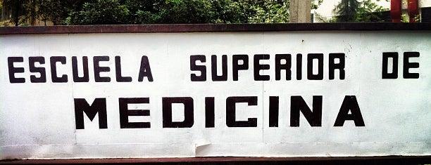 Escuela Superior De Medicina - ESM is one of DF Todas.