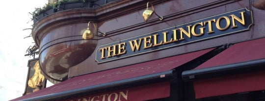 The Wellington is one of London.