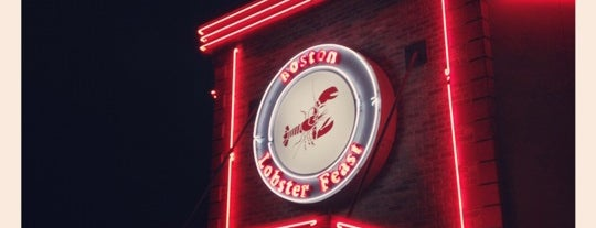 Boston Lobster Feast is one of My Favorite Places To Eat.