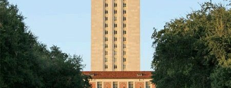 The University of Texas at Austin is one of College Love - Which will we visit Fall 2012.