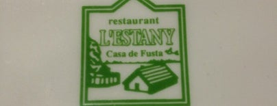 Restaurant L'Estany is one of Restaurants fora BCN.
