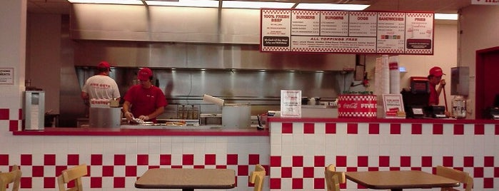 Five Guys is one of ND/Winnipegg.