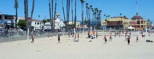 Santa Cruz Main Beach is one of The 50 Most Popular Beaches in the U.S..