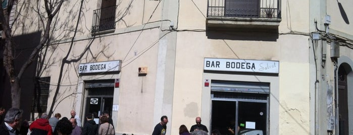 Bodega Salvat is one of Tapeo en Barcelona.