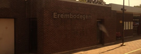 Station Erembodegem is one of Bijna alle treinstations in Vlaanderen.