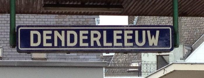 Station Denderleeuw is one of Bijna alle treinstations in Vlaanderen.