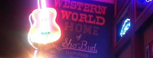 Robert's Western World is one of 11 Cool Places in Nashville You Really Must Visit.