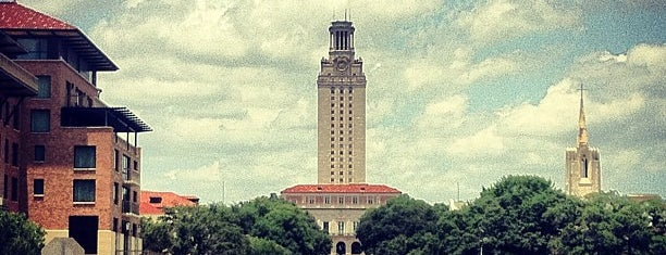 The University of Texas at Austin is one of Inspired locations of learning.