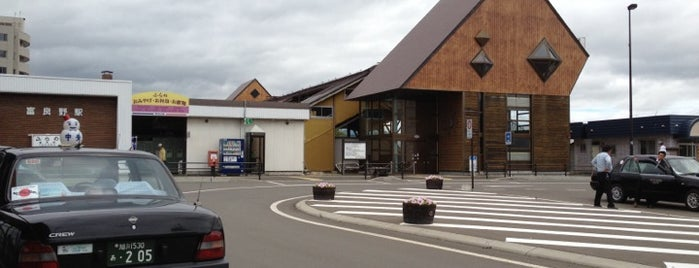 富良野駅 (Furano Sta.)(T30) is one of JR線の駅.