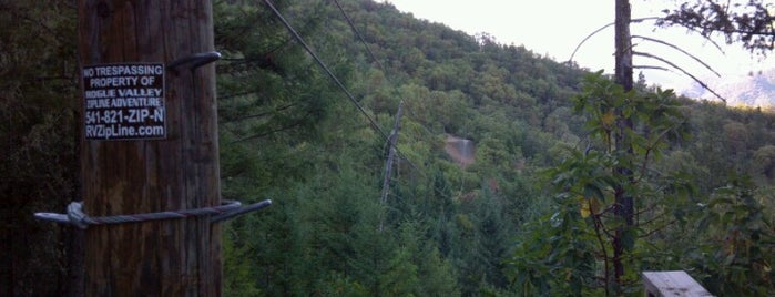 Rogue Valley Zipline Adventure LLC is one of Family Fun Day.