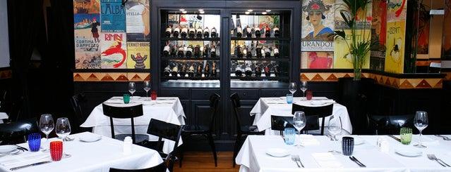 Carpaccio is one of 20 favorite restaurants.