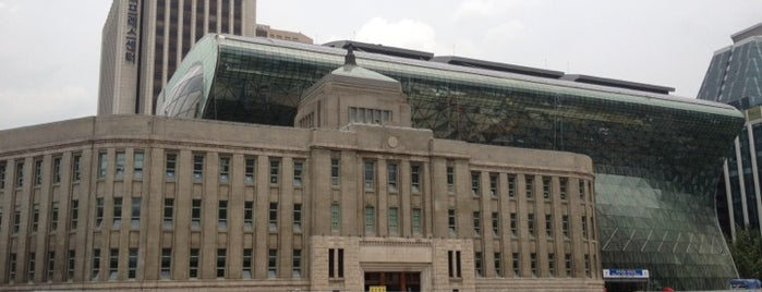 Seoul City Hall is one of Korean Early Modern Architectural Heritage.