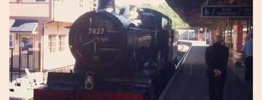 Kingswear Railway Station (Dartmouth Steam Railway) is one of Devon.