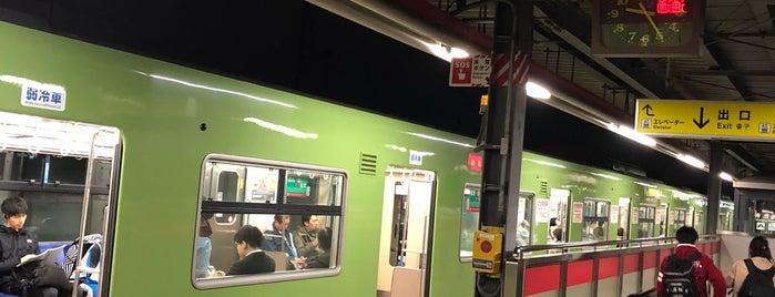 高井田中央駅 (Takaida-Chūō Sta.) is one of アーバンネットワーク 2.