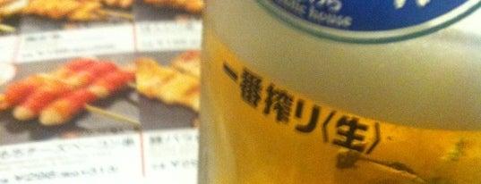 居楽屋 笑笑 月島駅前店 is one of 月島もんじゃレス.