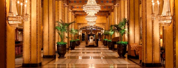 The Roosevelt New Orleans is one of The 15 Best Comfortable Places in New Orleans.