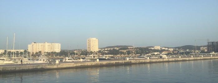 Marina de Bizerte is one of plages.