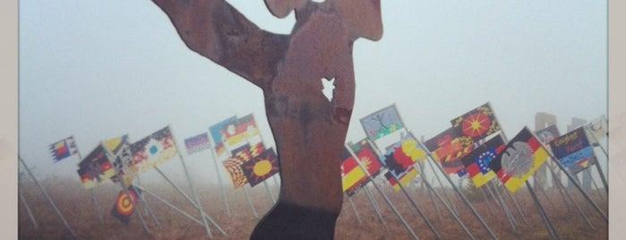 Grenzanlage & Skulpturenpark Deutsche Einheit is one of Innerdt. Grenze / Berliner Mauer - german border.