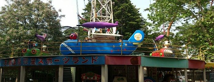 Omiya Park is one of 日本の都市公園100選.