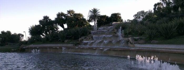 Parcs de montju c for Jardines de joan brossa