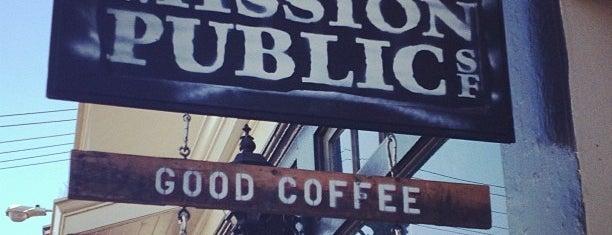 Mission Public SF is one of San Francisco Caffeine Crawl.