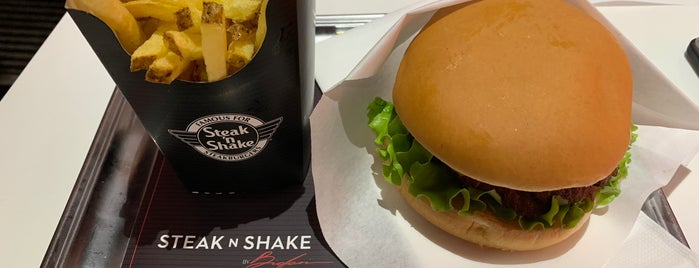 Steak 'n Shake is one of Porto.
