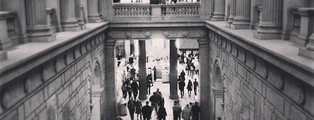 Metropolitan Museum of Art is one of NYC I see.