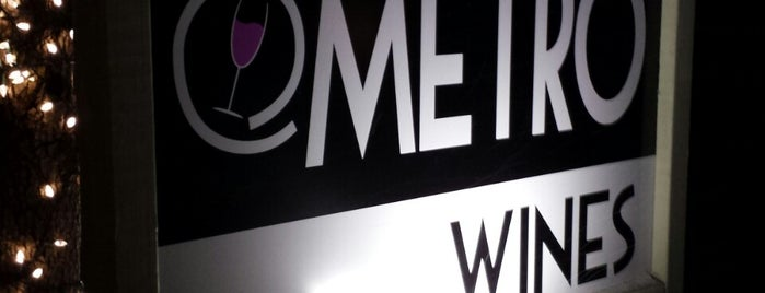 Metro Wines is one of My Asheville, NC Eat & Drink List 🏆.