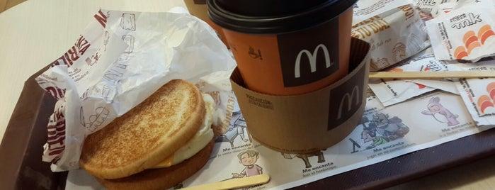 McCafé is one of Cafeterias.