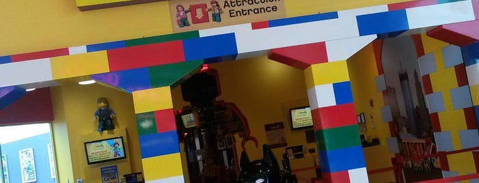 LEGOLAND Racers Build & Test is one of places.