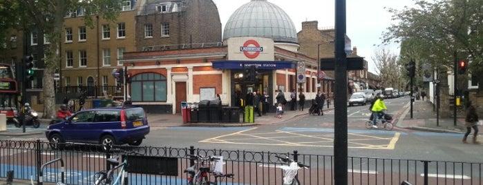 Kennington London Underground Station is one of Tube Challenge.