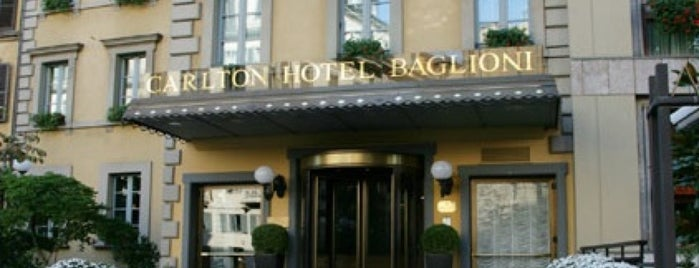 Carlton Hotel Baglioni is one of MILAN &  ROME-CURE.