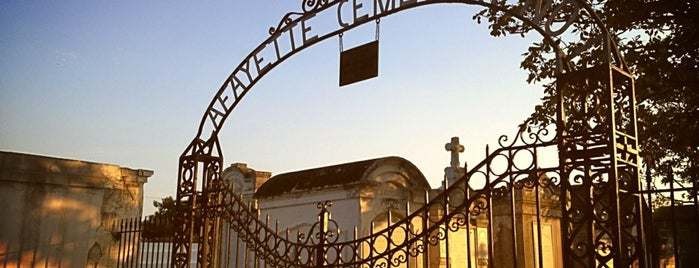 Lafayette Cemetery Nº 1 is one of New Orleans 2018 Itinerary.