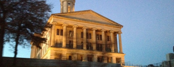 Tennessee State Capitol Building is one of The Crowe Footsteps.