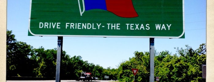 Louisiana / Texas State Line is one of AUS Faves and To Do.