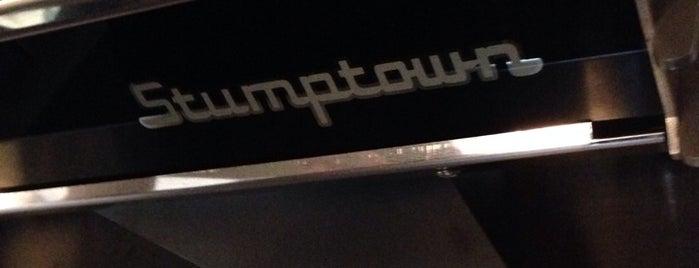 Stumptown Coffee Roasters is one of Seattle Coffee Shops.