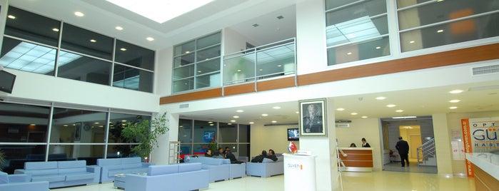 Optimed Hastanesi is one of Baranoğlu cafe pastane restorant.