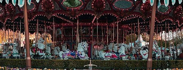 King Arthur Carousel is one of Disneyland Fun!!!.
